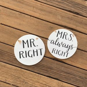 Other - ♡ MR. RIGHT MRS. ALWAYS RIGHT